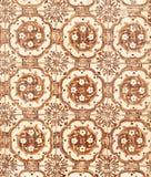 183 glasade portugisiska tegelplattor Arkivbilder