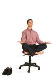 184企业瑜伽 库存照片