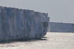 1840 brasvellbreen前冰川没有 免版税库存照片