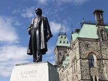 1841 1919 sir wilfrid laurier Obrazy Royalty Free
