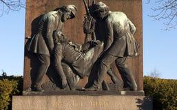 1849战争 免版税库存照片