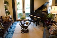 1850大平台钢琴 库存图片