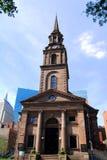 1859年阿灵顿波士顿教会ma st 免版税库存照片
