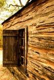 1860s' Farmer's House. A farmer's house in Texas in 1860s stock image