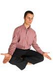 187企业瑜伽 库存照片