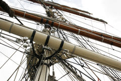 1877 Elissa Mast and Rigging Royalty Free Stock Image