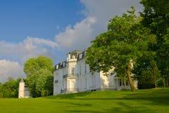 1878年aiete修建了donostia gipuzkoa宫殿 免版税图库摄影