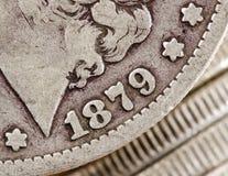 1879 dollar morgan Royaltyfri Fotografi