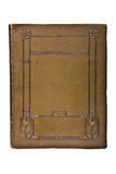 1880 książkowa pokrywa bardzo stary s Zdjęcie Stock