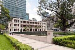 1881年编译的遗产kowloon 免版税库存照片