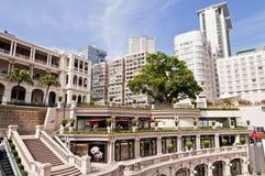 1881 - Costruzione di eredità a Hong Kong Fotografia Stock