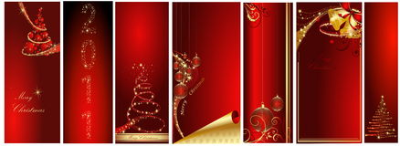 1881 Merry Christmas and Happy New Year. Collection Stock Photo