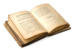 1886 anni della bibbia del Russo Fotografia Stock Libera da Diritti