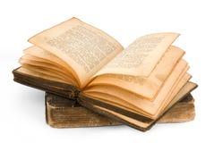 1886 Jahre alt-Russische Bibel lizenzfreie stockfotos