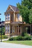 1887年bushyhead有历史的房子 库存图片
