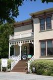 1887 mcconaughy有历史的房子 免版税库存照片