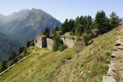 1892年堡垒意大利marie serre 库存图片