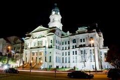 1893 gmach sądu stary Texas Obrazy Stock