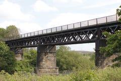 1897年carmyle铁路高架桥 库存图片