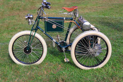 1899古色古香的三轮车   库存图片