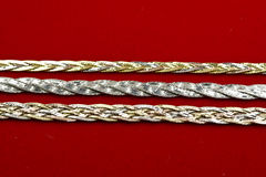 18k gold  Jewelry Stock Photo