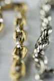 18k gouden Juwelen Stock Fotografie