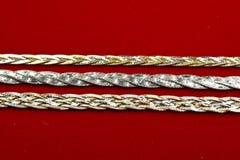 18k gouden Juwelen Stock Foto