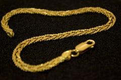 18kt gold bracelet Stock Photo