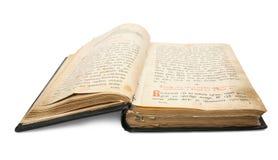 18st сбор винограда столетия книги Стоковая Фотография RF