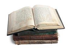 18st столетие книги Стоковое фото RF