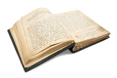18st century vintage book Stock Photos