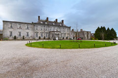 18th century Castle Durrow. In County Laois, Ireland Royalty Free Stock Photo