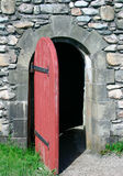 18th Century Doorway. This is a doorway to an 18th century french colony fortress Royalty Free Stock Photos