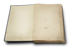 18th century vintage book Stock Photo