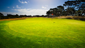 18th Green Royalty Free Stock Photos