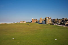 18th tee St Andrews Old Course Royalty Free Stock Images