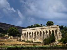 19ème Siècle Aquaduct Images libres de droits