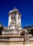 19世纪喷泉法国巴黎 图库摄影