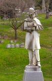 19世纪坟墓纪念碑 库存照片