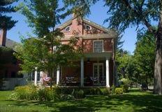 19世纪美国经典家庭豪宅 免版税库存照片