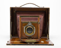 19世纪90年代古色古香的照相机 免版税库存图片
