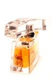 19个瓶香水 免版税库存照片