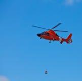 19加州卡洛斯eurocopter直升机hh 6月圣 免版税库存图片