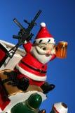 19疯子圣诞老人 免版税图库摄影