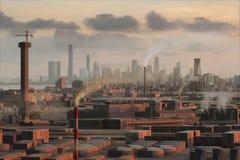 19虚构的城市 免版税库存图片