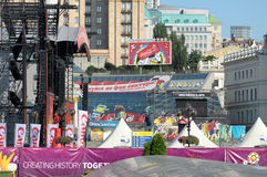 19 Ιουνίου Κίεβο Ουκρανία Στοκ Εικόνες