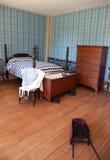 19$ος αιώνας κρεβατοκάμαρ&om Στοκ εικόνα με δικαίωμα ελεύθερης χρήσης