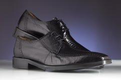 19 παπούτσια ατόμων πολυτέλ&ep Στοκ Εικόνα