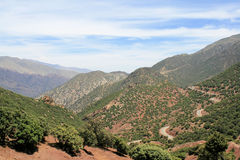 19 гор атласа Стоковое фото RF