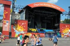 19-ое июня kiev Украина Стоковая Фотография